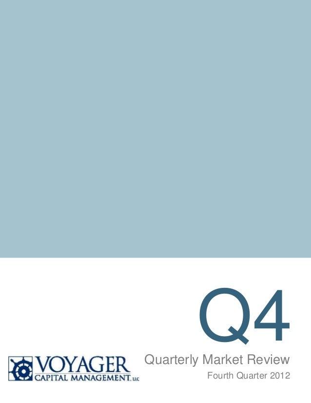 Q4Quarterly Market Review         Fourth Quarter 2012