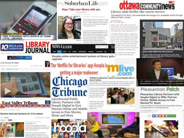 hoopla digital Quarterly PR Coverage Highlights ! !!