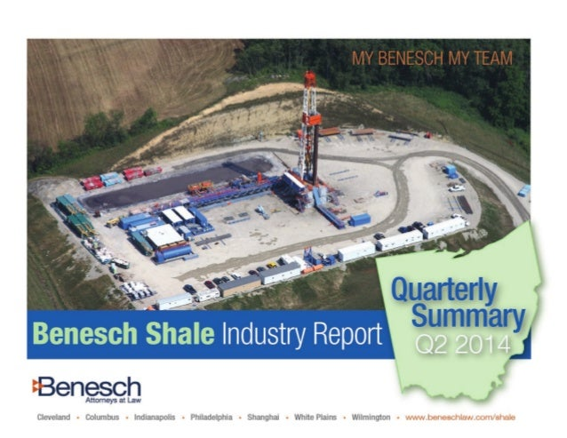 Contents 1. Top Issues and Considerations 3 2. Shale Industry Moves 4 3. Ohio Shale Infrastructure 7 4. Government 9 2