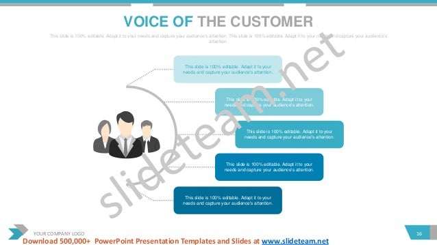 voice of the customer templates