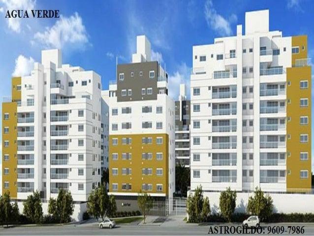 Apartamento Allto Padrão AGUA VERDE Pronto para morar (novo)