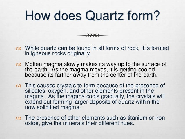 Quartz: Popular and Pretty