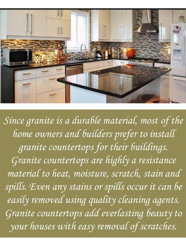 3. Since Granite ...
