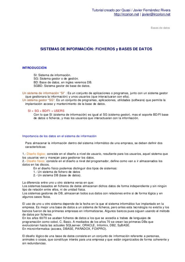 Tutorial creado por Quasi / Javier Fernández Rivera                                                                  http:...