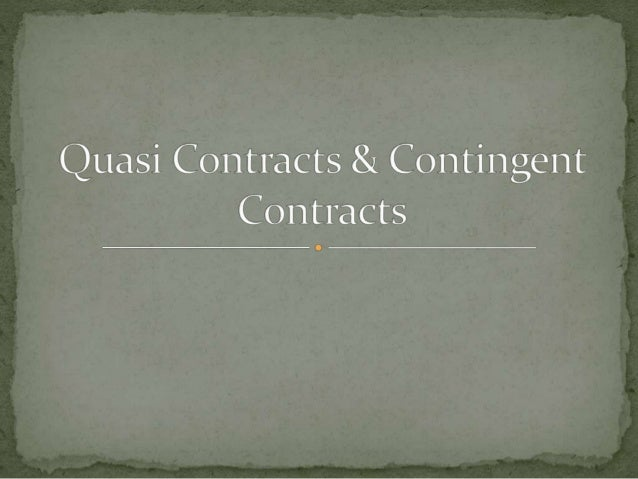 contingent contracts A contingency is a statement (a stipulation it's sometimes called) that is added to your contract that will allow you the right to back out of the deal without penalty under specific circumstances.