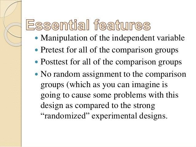 Quasi Experimental Method