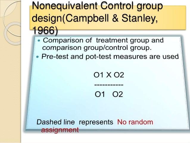 nursing essay quasi-experimental comparison Randomization is the key differentiator between experimental designs and quasi-experimental or  a comparison group, even one  research designs quasi.