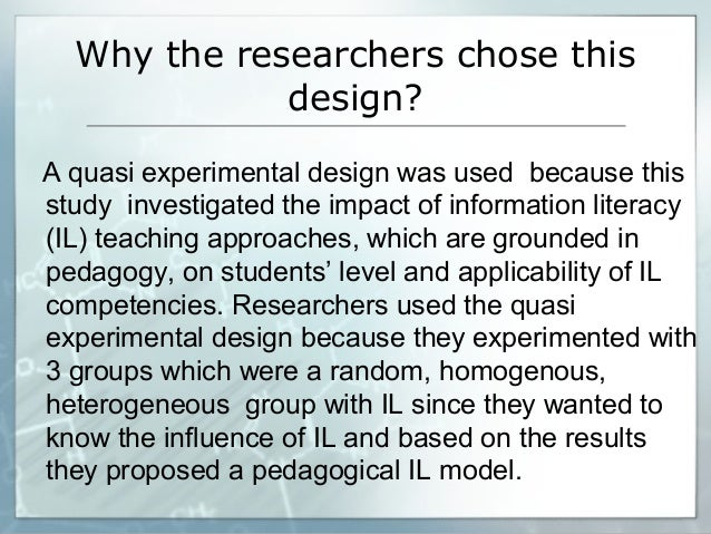 research proposal experimental and quasi experimental research