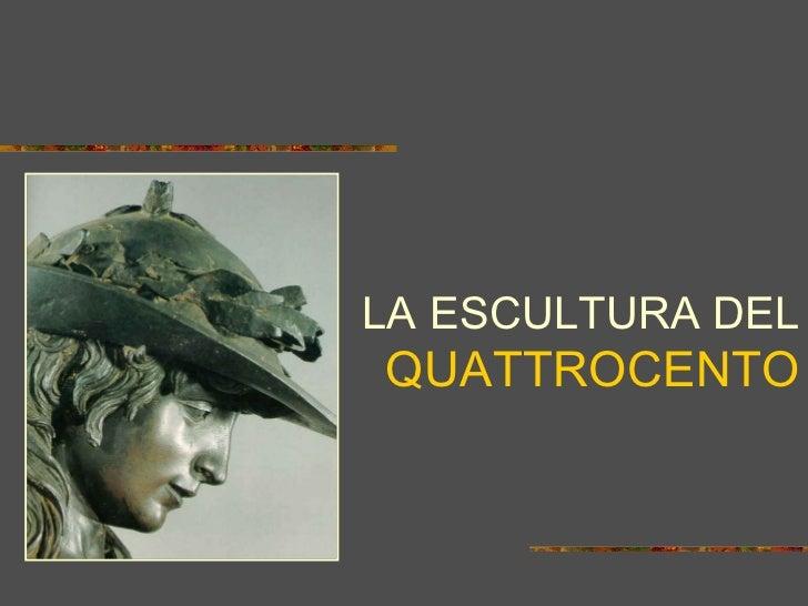 Escultura del Quattrocento