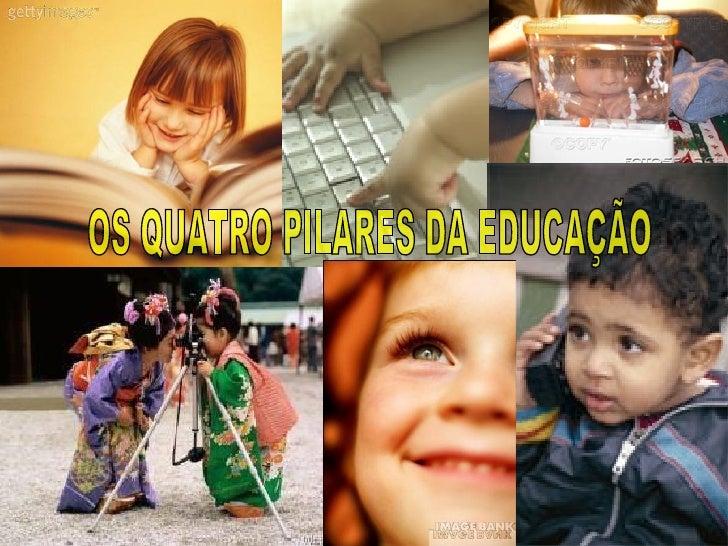 1993 - UNESCO constituiu uma Comissão para refletir sobre as formas pelas quais a educação poderia responder às exigências...