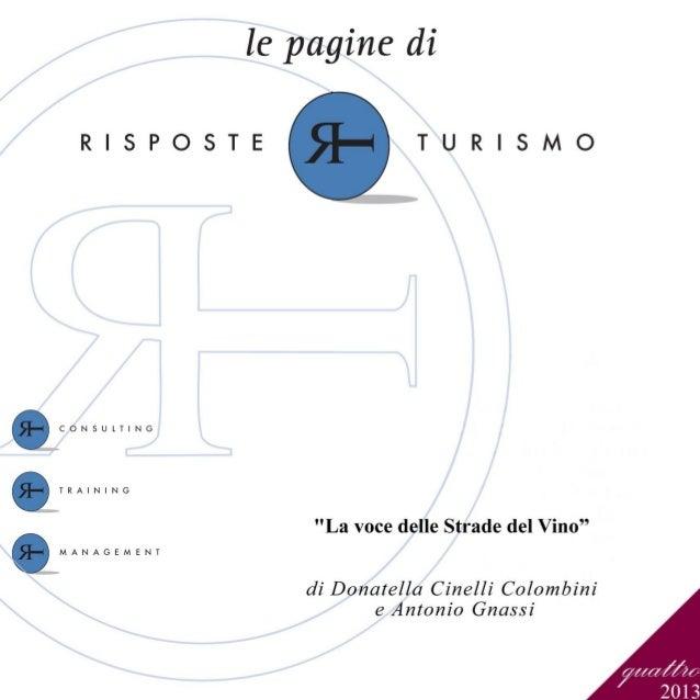 """""""La voce delle Strade del Vino"""" - 1"""