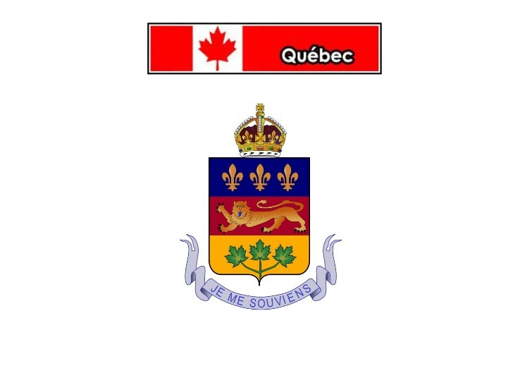 Géographie du Québec•   Le Québec est une province francophone du Canada.•   Sa capitale est Québec et sa métropole est Mo...