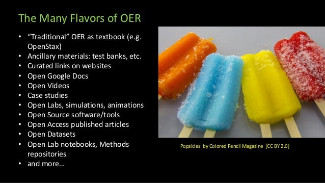 """Open Data as OER """"Open Data is an umbrella term describing openly-licensed, interoperable, and reusable datasets which hav..."""