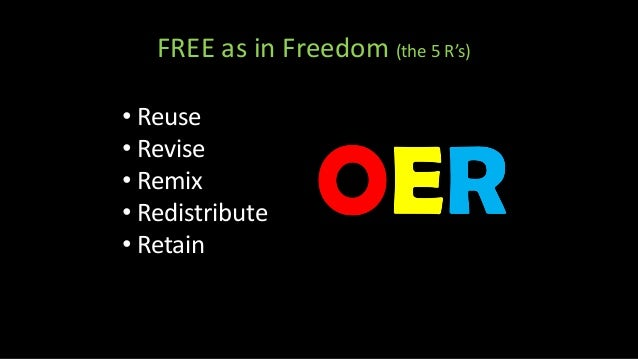 Open Educational Resources by Ron Mader [CC BY 2.0] • Digital • Multimedia • Downloadable • Adaptable • Current • Public •...