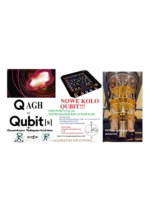 QUBIT AGH - Modeling and Implementation of Quantum technologies