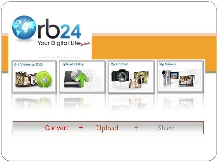 Online Convert   +  Upload  +  Share