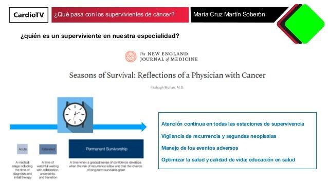 Qué pasa con los supervivientes de cáncer Slide 3
