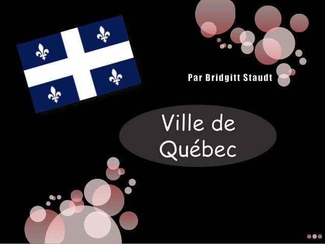 La Ville de Quebec