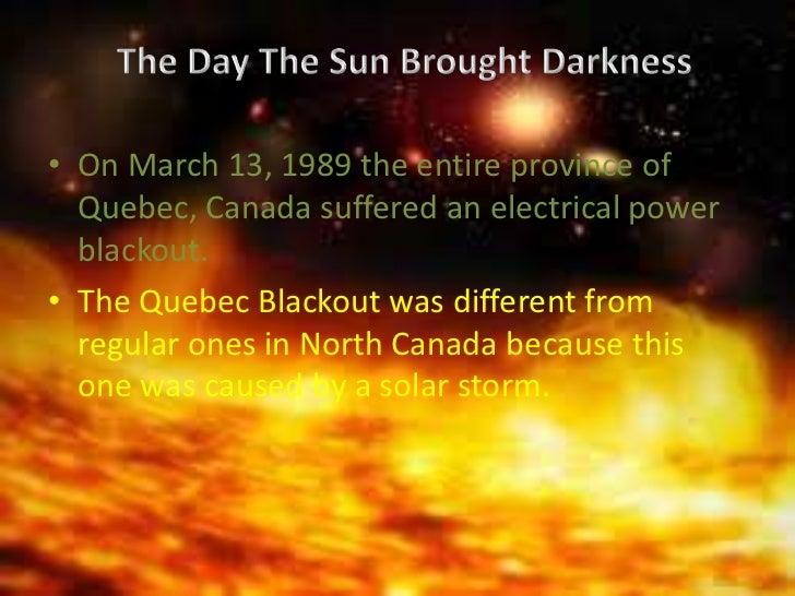 solar storm quebec 1989 - photo #36