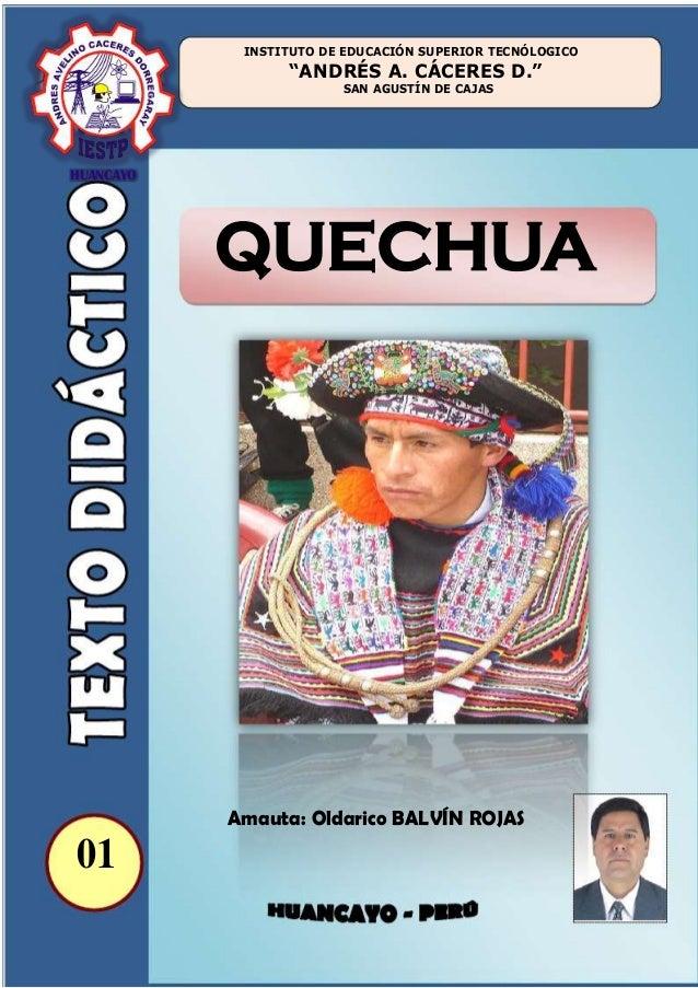 Quechua Runa Simi