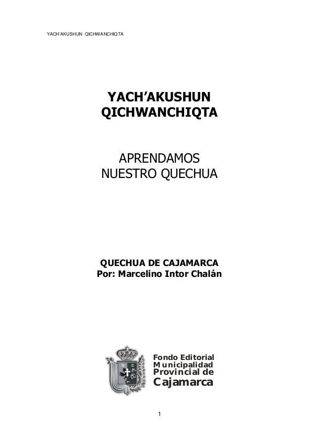 Quechua De Cajamarca