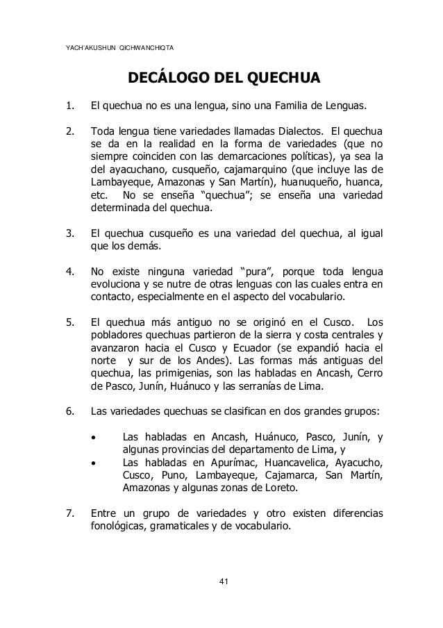 Frases Sobre El Cuidado Del Medio Ambiente En Quechua