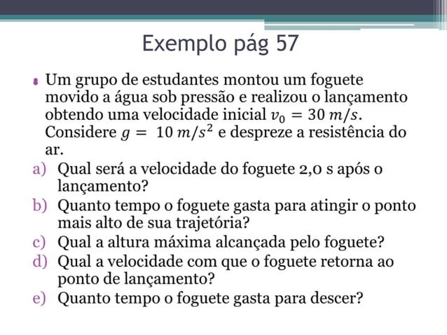 Exemplo pág 57•