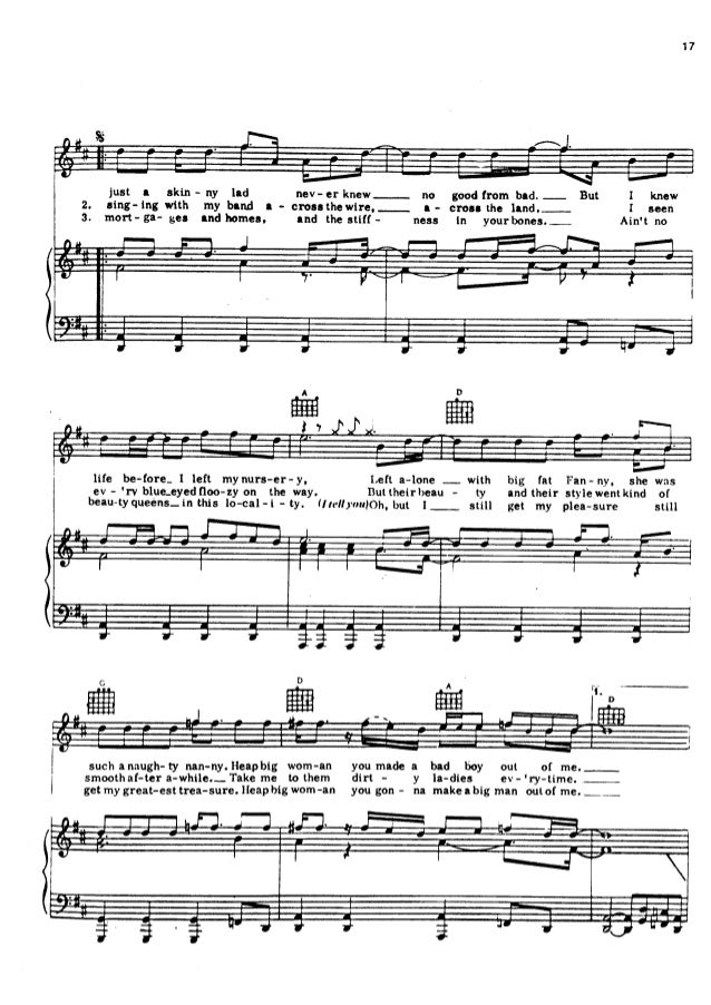 Oo La La Sheet Music From Dirty Picture