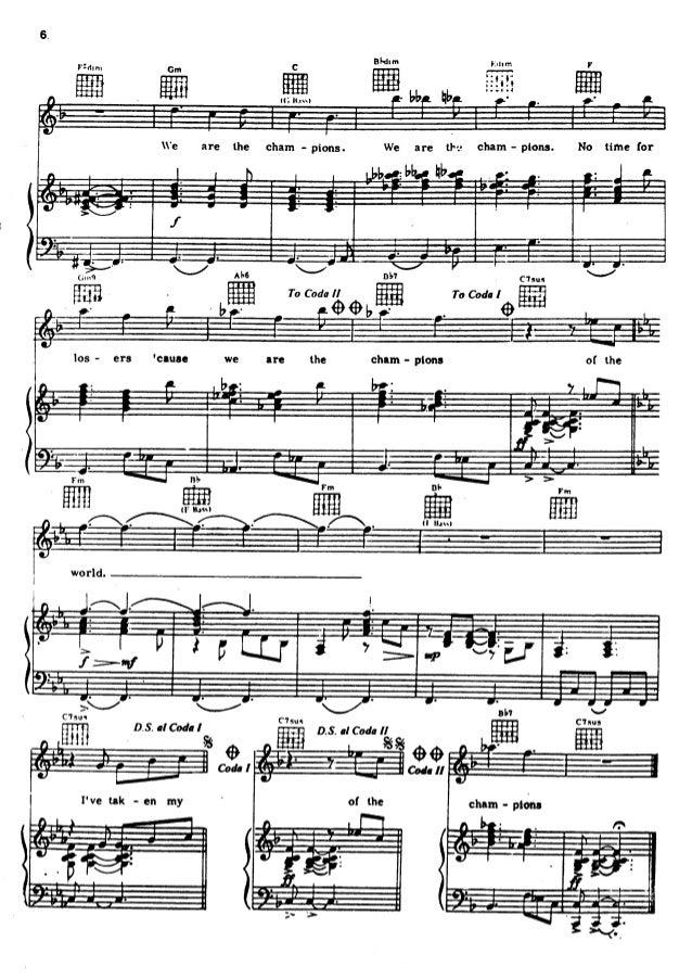 Queen   songbook 1 partituras Slide 3