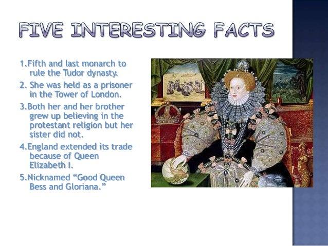 all about queen elizabeth 1
