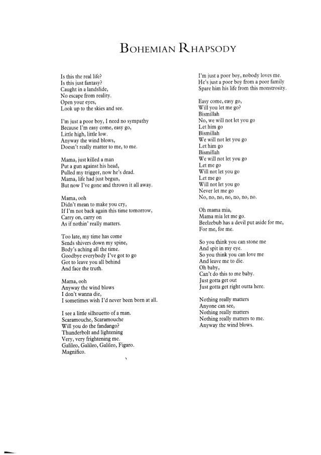 Queen (freddie mercury)   bohemian rhapsody (full scores) Slide 2