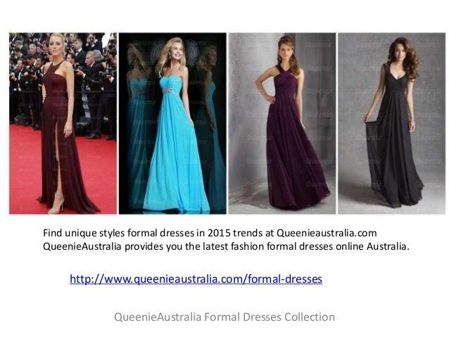 Queenie Australia Formal Dresses Collection