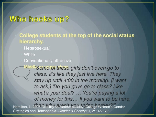 Do guys just want to hook up in college