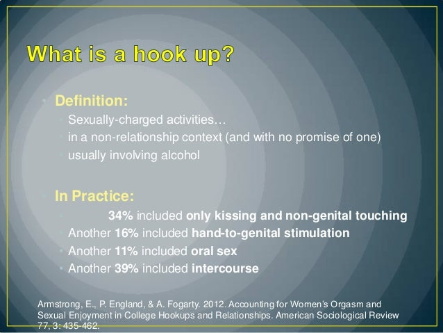 what does hook up mean in britain