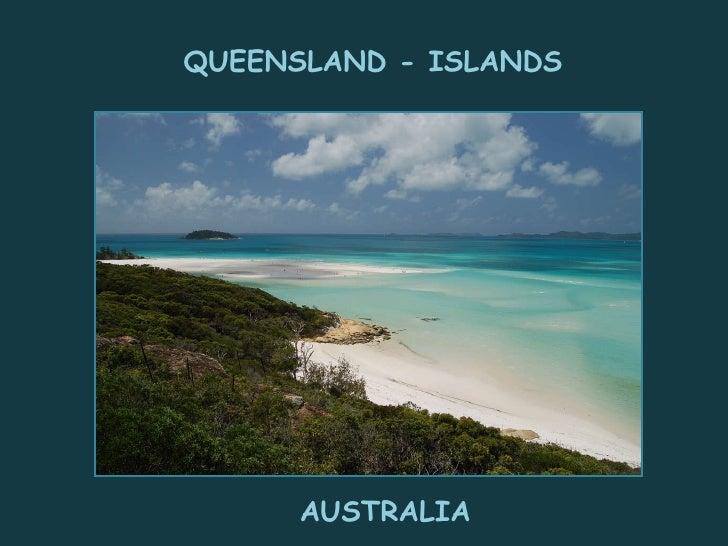 QUEENSLAND - ISLANDS AUSTRALIA