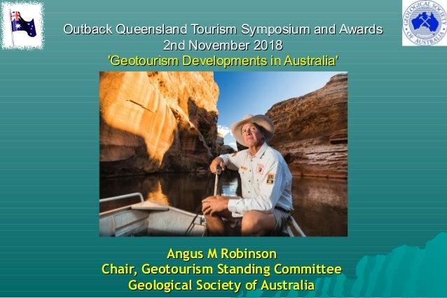 Outback Queensland Tourism Symposium and AwardsOutback Queensland Tourism Symposium and Awards 2nd November 20182nd Novemb...