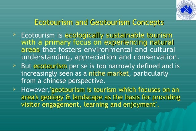 Geotourism Developments in Australia Slide 3