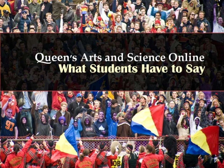 Queen's University distance education: What students say about us