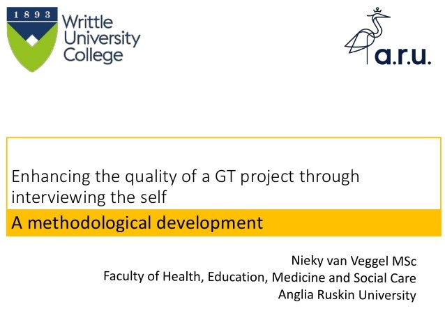 Enhancing the quality of a GT project through interviewing the self A methodological development