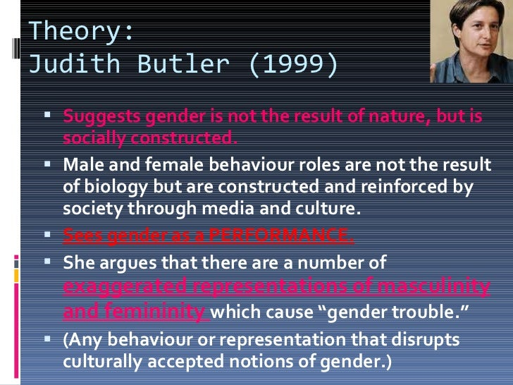 judith butler queer theory essay Faculty of arts - papers (archive) faculty of law, humanities and the arts  in judith butler's (1990) terms, homosexuality must be  queer theory is not about.
