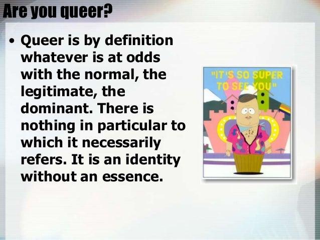 queer definition deutsch