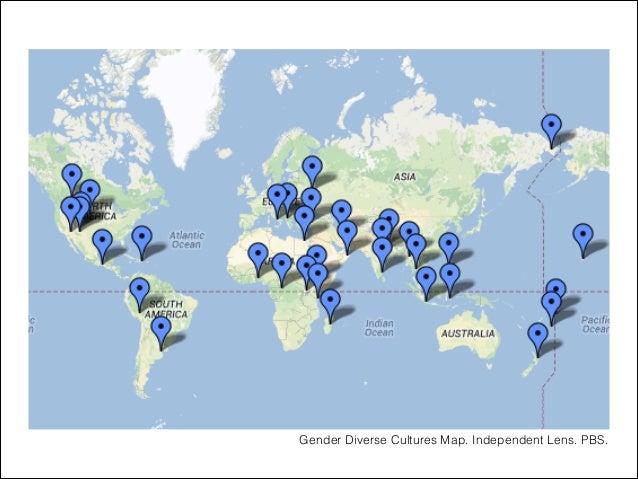 Gender Diverse Cultures Map. Independent Lens. PBS.