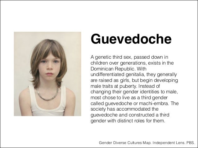 """Guevedoche"""" ! A genetic third sex, passed down in children over generations, exists in the Dominican Republic. With undiff..."""
