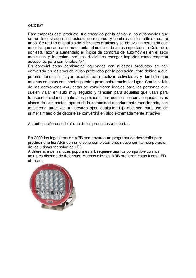 QUE ES? Para empezar este producto fue escogido por la afición a los automóviles que se ha demostrado en el estudio de muj...