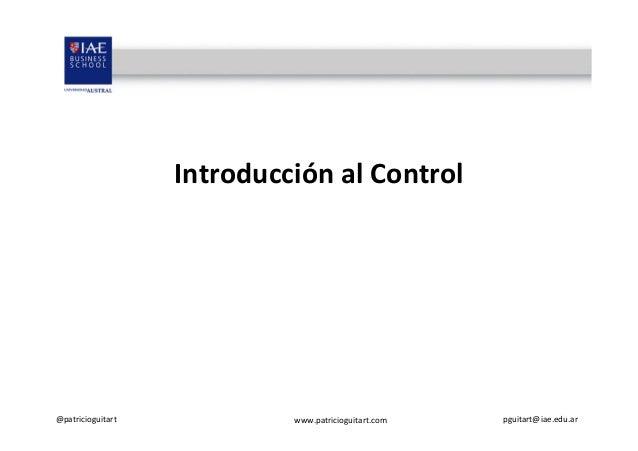 Qué es control Slide 2