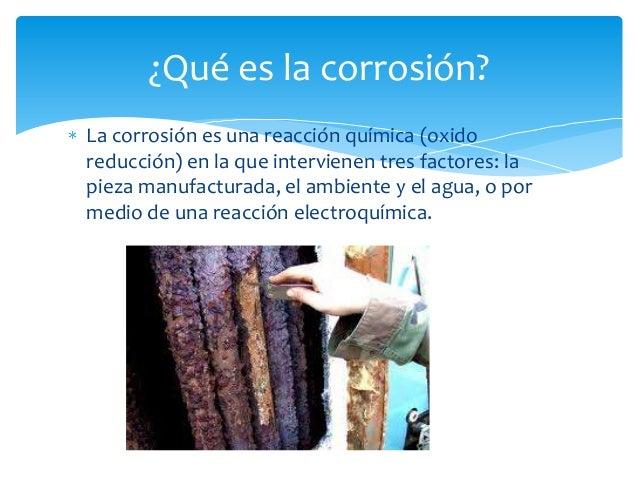 Que es corrosión Slide 2