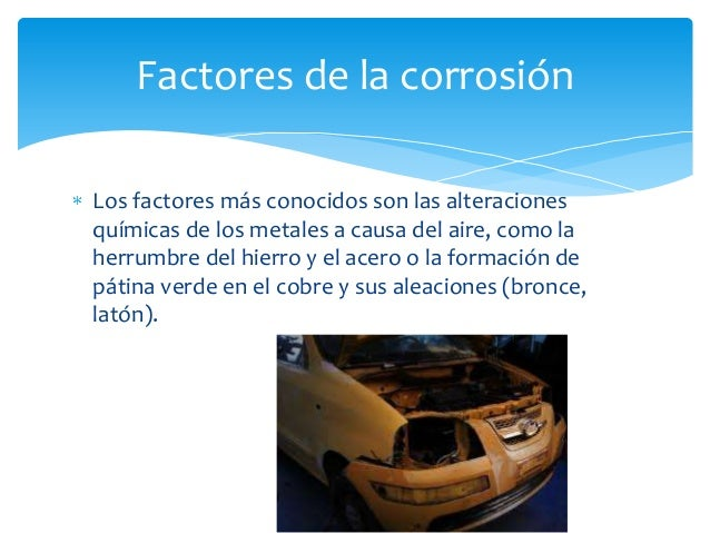 Que es corrosión Slide 3