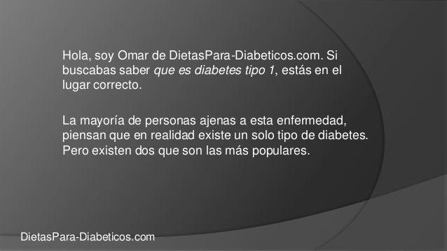 Que es diabetes tipo 1 - Conoce todo sobre la diabetes tipo 1