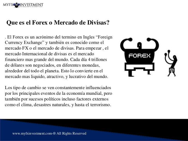 Que es el forex y como funciona forex system review