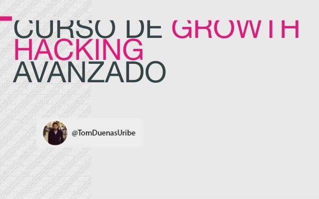 CURSO DE GROWTH 